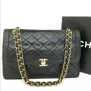 Vintage CHANEL Paris Limited Double Shoulder bag